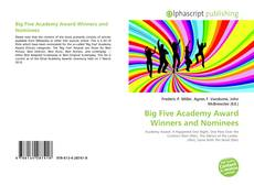 Bookcover of Big Five Academy Award Winners and Nominees