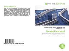 Bookcover of Mumbai Monorail