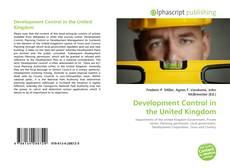 Borítókép a  Development Control in the United Kingdom - hoz