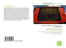 Bookcover of Sarah Baartman