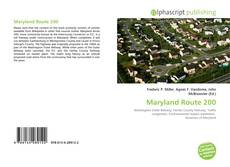 Maryland Route 200 kitap kapağı