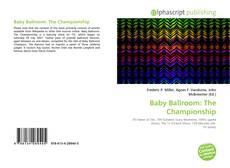 Couverture de Baby Ballroom: The Championship