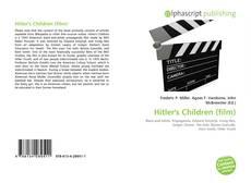Buchcover von Hitler's Children (film)