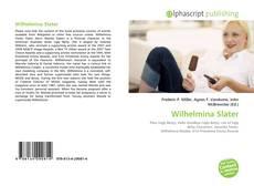 Portada del libro de Wilhelmina Slater