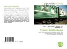 Swiss Federal Railways kitap kapağı