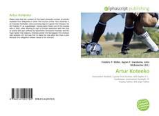 Capa do livro de Artur Kotenko