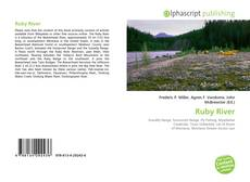 Bookcover of Ruby River