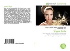 Vogue Paris的封面