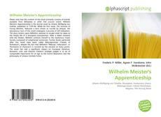 Обложка Wilhelm Meister's Apprenticeship