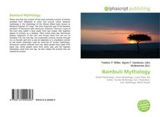 Bookcover of Bambuti Mythology