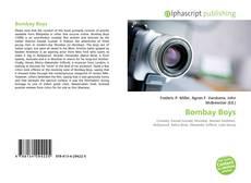 Portada del libro de Bombay Boys