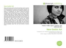 Capa do livro de New Gothic Art