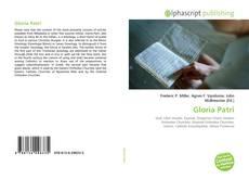 Bookcover of Gloria Patri
