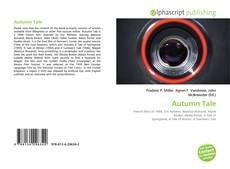 Capa do livro de Autumn Tale