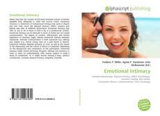Portada del libro de Emotional Intimacy