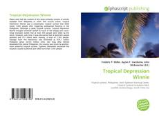Capa do livro de Tropical Depression Winnie
