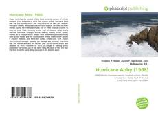 Bookcover of Hurricane Abby (1968)