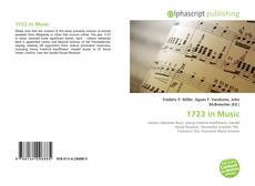 Bookcover of 1723 in Music