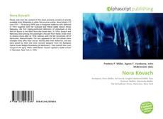 Обложка Nora Kovach