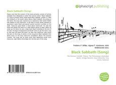 Borítókép a  Black Sabbath (Song) - hoz