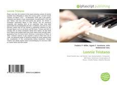 Обложка Lennie Tristano
