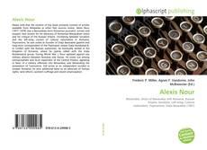 Capa do livro de Alexis Nour