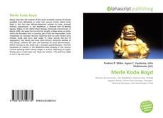 Обложка Merle Kodo Boyd