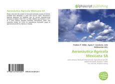Capa do livro de Aeronáutica Agrícola Mexicana SA