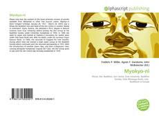 Buchcover von Myokyo-ni