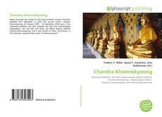 Bookcover of Chandra Khonnokyoong