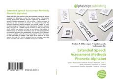 Bookcover of Extended Speech Assessment Methods Phonetic Alphabet