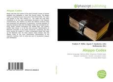 Aleppo Codex的封面