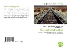 Bookcover of Amur Yakutsk Mainline