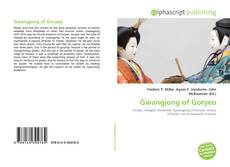 Bookcover of Gwangjong of Goryeo