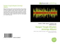 Hangin' Tough (Waylon Jennings Album)的封面