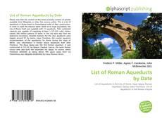 Borítókép a  List of Roman Aqueducts by Date - hoz
