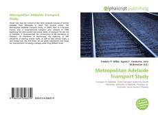 Обложка Metropolitan Adelaide Transport Study