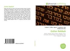 Couverture de Esther Rabbah