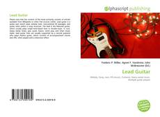 Bookcover of Lead Guitar