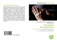 Bookcover of Theological Noncognitivism