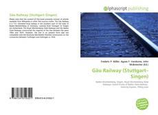 Bookcover of Gäu Railway (Stuttgart–Singen)