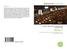 Bookcover of Marina 1