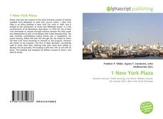 Bookcover of 1 New York Plaza