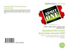 Portada del libro de Broadcast Film Critics Association Awards 2000