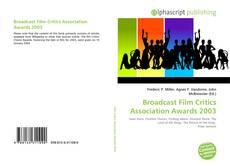 Portada del libro de Broadcast Film Critics Association Awards 2003