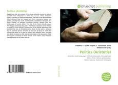 Buchcover von Politics (Aristotle)