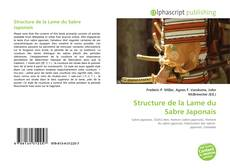 Capa do livro de Structure de la Lame du Sabre Japonais