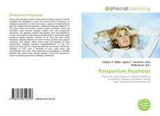 Bookcover of Postpartum Psychosis