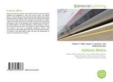 Buchcover von Kolkata Metro