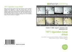 Capa do livro de 1971 Ugandan Coup d'état